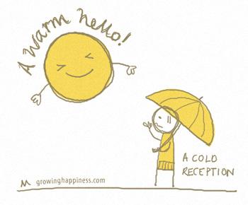A Warm Hello, A Cold Reception