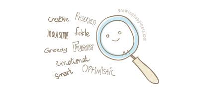 Magnify your positive traits