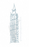 Big Ben, clock tower, Houses of Parliament, Westminster, London