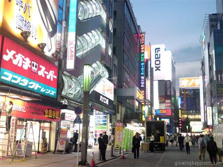 Akihabara Electric Town in Tokyo, Japan