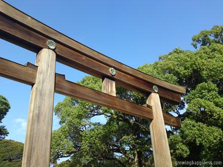 Meiji Jingu - Shinto shrine near Harajuku and Yoyogi Park in Tokyo, Japan